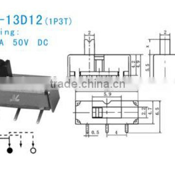 SS-12D12 Slide Switch
