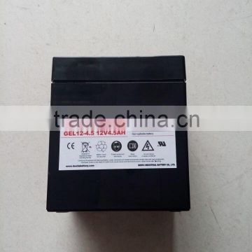 power station deep cycle battery 12v4.5ah solar power storage battery for discharge