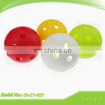 NEW Plastic Colorful Floorballs