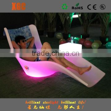 sunbed leisure led furniture with outdoor lounge chair GF119