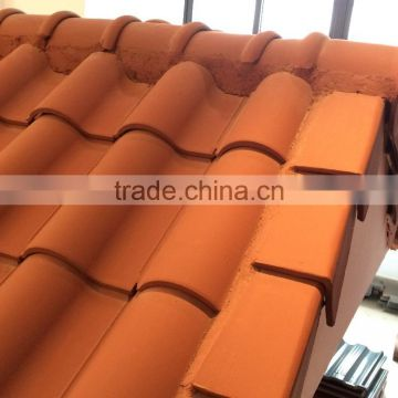 China new product kerala ceramic roof tile