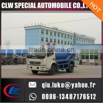 4x2 type 6 tyres high pressure system dredge truck suction truck