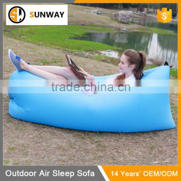 Hottest Sunbathing Nylon Hangout Fast Inflatable Sofa