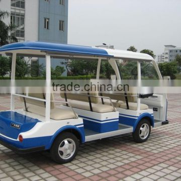 Unique best sale passenger transport battery powered sightseeing shuttle bus
