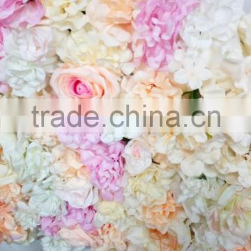 2017 popular cheap Hot sale flower wall decoration for wedding