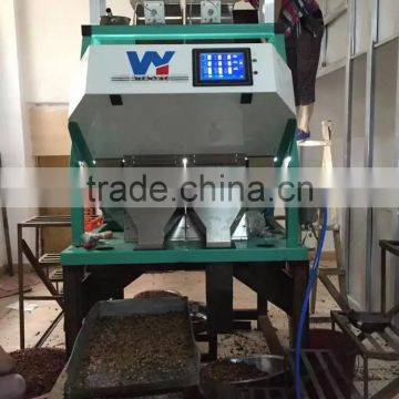 5400 pixel full color camera chick peas color sorter machine