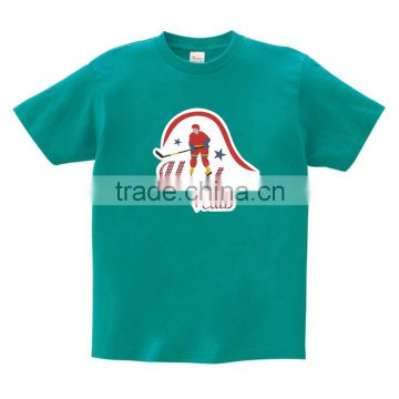 Shining Hockey Man with Glitter and Hot fix Crystal Rhinestone Design for T-shirt