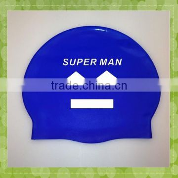 Custom Logo Printed Promotional Silicone Swimming Cap