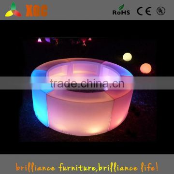 16 colors glowing led wedding events furniture with led GF310