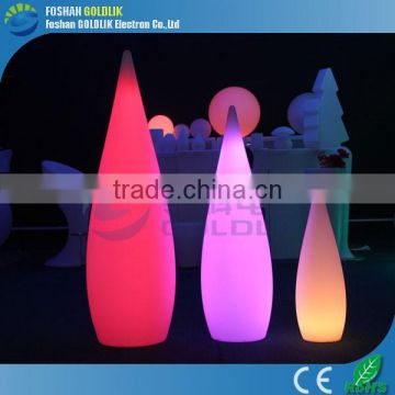 LED Outdoor Lamps with Light Color Change