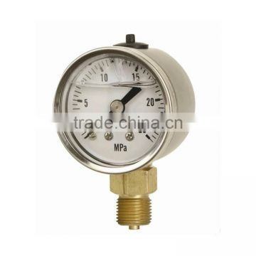 "china 1/8"" npt pressure gauges"