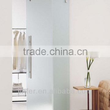 Modern Stainless Steel Glass Sliding Barn Door New Bar Track SD0117600