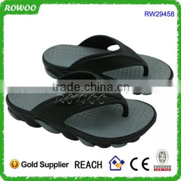 Durable Men Sport EVA injection Custom logo Thong Flip Flop Wholesale