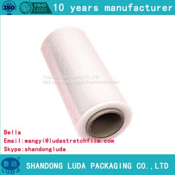 transparent machine LLDPE packaging stretch film supply
