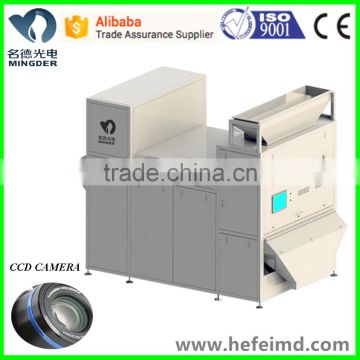 plastic recycling machine, granuls color sorting machine with high accuracy 99.99%