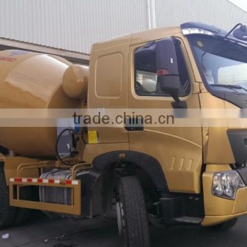 Sinotruk Well-Used HOWO A7 10m3 Concrete Mixer Truck with Low price for sale
