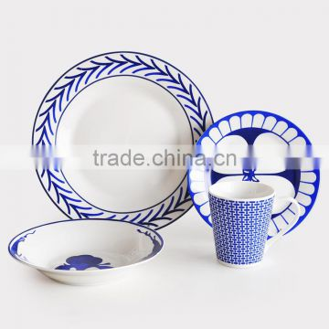 Ceramic Dinnerware Set with Decal