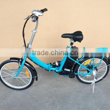 CE 250W 24V12A foldable lithium battery Electric Bicycle bike