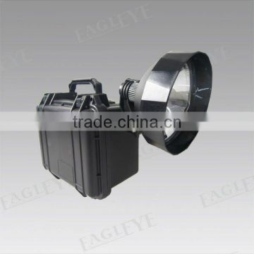 Guangzhou factory rechargeable 12V7AH rechargeable halogen spotlight with locking switch cover