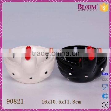 White bulk wholesale cheap ceramic bowl
