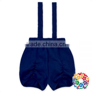 New hot sell baby summer clothes kids short pants blue soft cotton children shorts