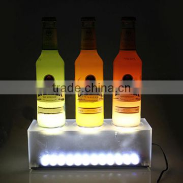 Led light bases for acrylic