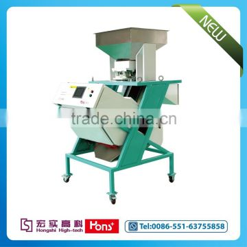 Hons+ High Quality Mini type Tea processing, sea fruit optical color sorting machine