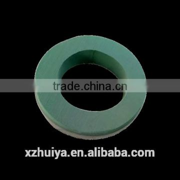 hebei xuzhou huiya new product Ring loop circle annular round floral foam, ring florist foam, ring round flower mud supplier