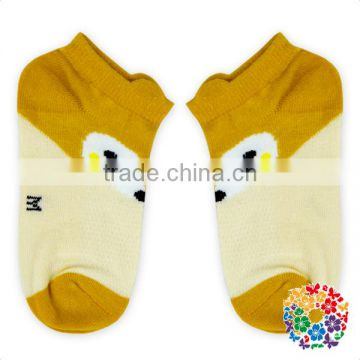 hot sale fancy knitted animal soft touch baby socks