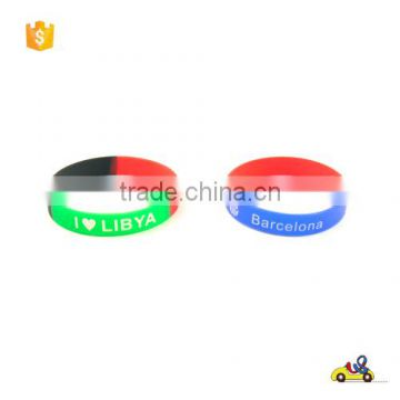 HOT silicone wrist band silicone rubber bracelet/with letters