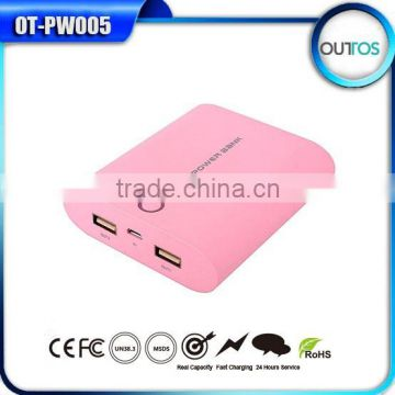 Portable Charger Mobile Phone New Power Bank 10400MAH