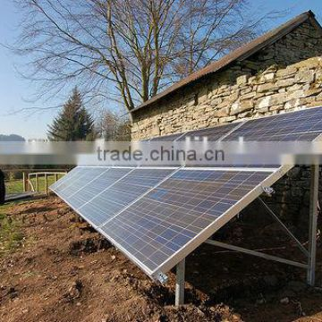 Power generation system Bestsun Complete with battery and brackets 4000w solar tracker system price