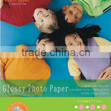 120g high Glossy single side Photo Paper