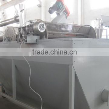 professional manufacturer waste plastic hdpe milk bottle recycling crushing washing drying machine