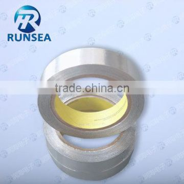 Heat Resistant Aluminum Foil Tape With Adhesive / Fireproof Aluminum Foil Tape