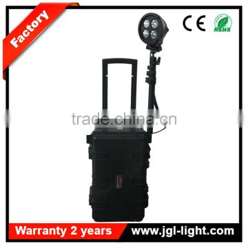 China factory flux led extendable battery operated spotlight RLS51-80W