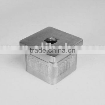 SS/Stainless steel curved square tube base-square tube fittings