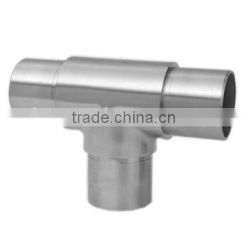 Stainless steel 90 Degree Tee for stainless steel railing systems