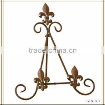 New Design Tabletop Display Metal antique easel