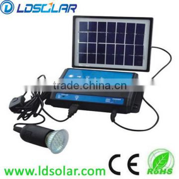 low price solar home lighting system