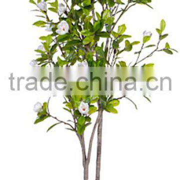 indoor Home garden decorative 250cm Height make artificial green live magnolia bonsai tree EXLYPZ06 0509