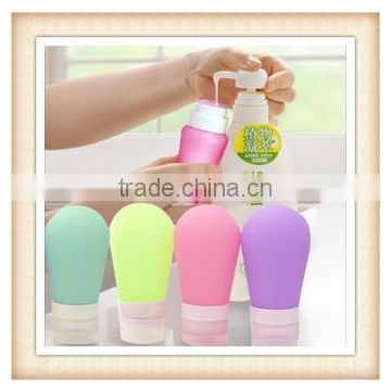 2015 hot sell Silicone travel bottles,silicone bottle,Travel good helper