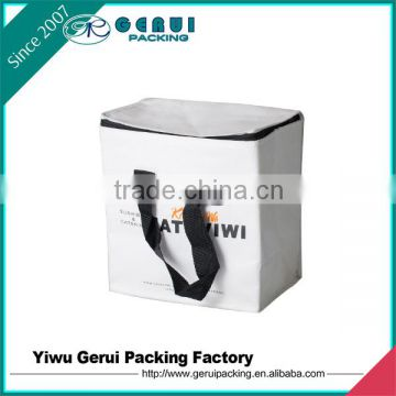 Non woven Material and Insulated Type picnic cooler bag
