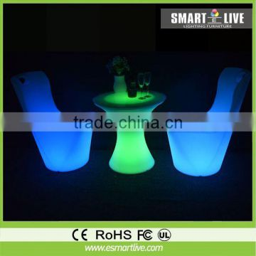 fancy led bentwood wedding chairs without arms color change for event led furniture for sales