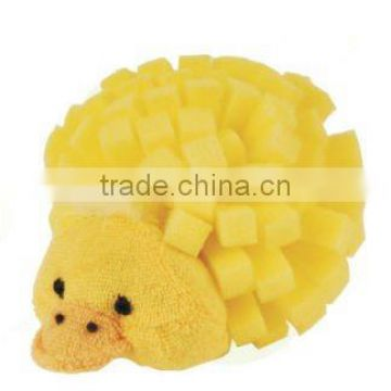 cartoon bath scrubber/bath sponge