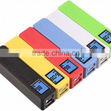 New LCD Power Bank Key Chain Perfume gift power banks