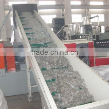 Waste film woven bags compactor pelletizing machinery /pppe film agglomerator