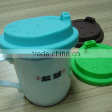 silicone coffee cup cover/cup lid