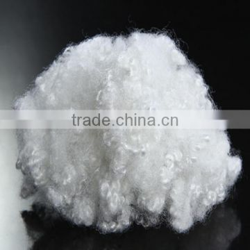 Three dimensional crimp recycled Polyester Staple Fiber 2.5D*51mm non siliconized