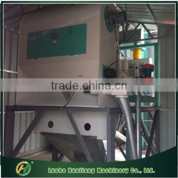 High efficiency grain pre-cleaning sifter with cycle air separator